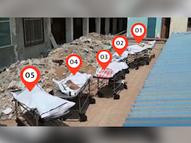 જ્યાં જુઓ ત્યાં લાશો જ લાશો, ક્યાંક સ્ટ્રેચર પર તડકામાં શેકાય, ક્યાંક ખુણામાં ઢગલા, સરકારી હૉસ્પિટલનો વીડિયો વાઇરલ|ઈન્ડિયા,National - Divya Bhaskar