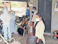 મેઘરજના પાણીબારવાંટામાં રેપિડ ટેસ્ટમાં 19 પોઝિટિવ|મેઘરજ,Meghraj - Divya Bhaskar