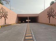 ઘ-4નો અંડરપાસ લોકાર્પણના 25 દિવસ બાદ ખુલ્લો મુકાયો|ગાંધીનગર,Gandhinagar - Divya Bhaskar