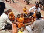 સુરતમાં 24 કલાક ધમધમતા સ્મશાનોને લઈને વાતાવરણ શુદ્ધ કરવા રામનાથ ઘેલા સ્મશાનગૃહમાં યજ્ઞનું આયોજન|સુરત,Surat - Divya Bhaskar