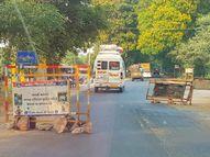 ગોધામ, ધામસીયા અને કરનાળી હાઈવે પરના લોખંડના બેરિકેટ વાહન ચાલકો માટે જોખમી નસવાડી,Nasvadi - Divya Bhaskar