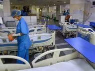 વડોદરામાં સરકારી ક્વોટાનાં બેડ ખાલી હોવા છતાં હોસ્પિટલો ના પાડે છે, બેડના રૂ.8500 કહેતાં લાચાર પતિ પત્નીની સારવાર ન કરાવી શક્યો|વડોદરા,Vadodara - Divya Bhaskar