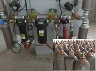 વડનગરમાં બે કરોડના ખર્ચે 1500 કિલો ઓક્સિજન ઉત્પન્ન કરતો પ્લાન્ટ શરૂ કરાયો|મહેસાણા,Mehsana - Divya Bhaskar
