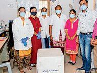 12 લાખના 24 ઓક્સિજન મશીનની દર્દીઓને ભેટ|નવસારી,Navsari - Divya Bhaskar