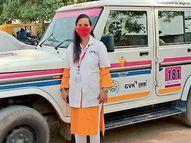 181 અભયમમાં નિર્ભય બની 8 માસના ગર્ભ સાથે કાઉન્સેલરની ફરજ બજાવતાં ભાવનાબેન પરમાર પાટણ,Patan - Divya Bhaskar