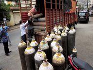 જામનગરની રિલાયન્સ રિફાઇનરી મહારાષ્ટ્રમાં અછત હોવાથી 100 મેટ્રિક ટન ઓક્સિજન મોકલશે! જામનગર,Jamnagar - Divya Bhaskar