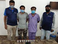 1.08 લાખમાં 9 રેમડેસિવિર વેચવા જતા SVPનો કામ કરતો બ્રધર પોલીસના છટકામાં ઝડપાયો|અમદાવાદ,Ahmedabad - Divya Bhaskar
