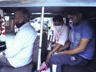 રિક્ષામાં ઓક્સિજન-સિલિન્ડર સાથે દર્દી ભટકતો રહ્યો, પણ ક્યાંય બેડ ખાલી જ નથી, બે દિવસમાં ઓક્સિજનની અછતથી 10નાં મોત સુરત,Surat - Divya Bhaskar
