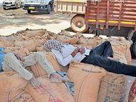 ગરમીનો પારો 2.5 ડિગ્રી ઘટ્યો, છતાં પવનના કારણે ગરમીથી રાહત નહીં|મહેસાણા,Mehsana - Divya Bhaskar