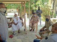 અંબાજી મંદિર ટ્રસ્ટ દ્વારા પોલીસ બંદોબસ્ત સાથે કોટેશ્વર મહાદેવ મંદિરનો કબ્જો લેવાયો|અંબાજી,Ambaji - Divya Bhaskar
