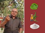 મીઠું, નીલગીરીનું તેલ અને નાગરવેલનું પાન કોરોનાથી બચાવે, વેરાવળના ખેતસીભાઈ મૈઠિયાએ બતાવી આસાન રીત|ઓરિજિનલ,DvB Original - Divya Bhaskar