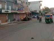કોરોના સંક્રમણની ચેન તોડવા રાધનપુર અને શંખેશ્વરના બજારો સ્વૈચ્છિક બંધ રહ્યા પાટણ,Patan - Divya Bhaskar