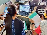 વર્ચ્યુઅલ મોડથી 'વિજ્ઞાન, ગણિત અને પર્યાવરણ' પ્રદર્શન યોજાયું|પાવી જેતપુર,Pavi Jetpur - Divya Bhaskar