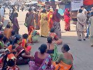 નવસારીનું દૂધીયાતળાવ માર્કેટ 30મી સુધી બંધ નવસારી,Navsari - Divya Bhaskar