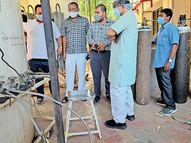 નવસારી સિવિલમાં ઓક્સિજનની ખોટ નહીં વર્તાય નવસારી,Navsari - Divya Bhaskar