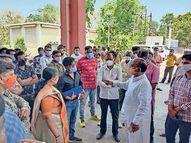 નર્મદાની સ્થિતિ ખુબ ગંભીર, અધિકારીઓ શાનમાં સમજી જાયઃ સાંસદ|રાજપીપળા,Rajpipla - Divya Bhaskar