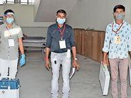 મોરવા હડફ વિધાનસભાની પેટા ચૂંટણીમાં આજે 254 મતદાન મથકે મતદાન થશે|ગોધરા,Godhra - Divya Bhaskar