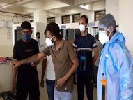 જૂનાગઢ સિવિલમાં દર્દીઓને કસરત અને કાઉન્સલિંગ થકી શારીરિક અને માનસિક રીતે મજબૂત કરવાનો પ્રયાસ|જુનાગઢ,Junagadh - Divya Bhaskar