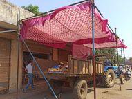 વિજલપોરમાં જ્યાં RTPCR ટેસ્ટ કરવામાં આવે છે ત્યાં પાલિકાનું કચરો ભરેલું ટ્રેક્ટર પાર્ક કરાયું નવસારી,Navsari - Divya Bhaskar