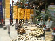 દોઢ માસમાં મરણક્રિયાના સામાનના વેચાણમાં ઓચિંતો ચાર ગણો વધારો|સુરત,Surat - Divya Bhaskar