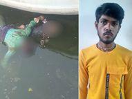 સાબરમતીમાં આત્મહત્યા કરનારી મહિલાના પતિ સામે ફરિયાદ કરાઈ, 12 માર્ચે એક વર્ષના બાળક સાથે નદીમાં ઝંપલાવી દીધું હતું|અમદાવાદ,Ahmedabad - Divya Bhaskar