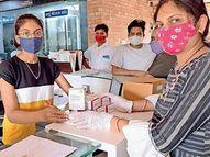 અનેક સ્થળોએ રેમડેસિવીરને માટે કતારો લાગી રહી છે ત્યારે સુરત ગ્રામ્યમાં 3300 ઇન્જેક્શન સીધા દર્દીની હોસ્પિટલ સુધી પહોંચાડાયા|બારડોલી,Bardoli - Divya Bhaskar
