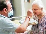 દાહોદમાં બંને ડોઝ લેનારે પોઝિટિવ માતાની કાળજી રાખી પણ તેમને કોરોના 'ના' સ્પર્શ્યો|દાહોદ,Dahod - Divya Bhaskar