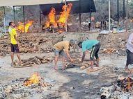 810 કોરોના મૃતકોને અગ્નિદાહ આપતી કોરોના પ્રુફ ટીમ, દુ:ખ એ વાતનું કે લોકો તેમનાથી દુર ભાગે છે અંકલેશ્વર,Ankleshwar - Divya Bhaskar