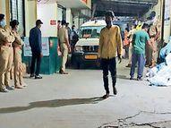 દાહોદ ઝાયડસમાં દર્દીના મોતથી મધ્યરાત્રે સ્થિતિ વણસતાં પોલીસ કાફલો ધસી આવ્યો|દાહોદ,Dahod - Divya Bhaskar