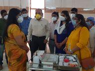 પાદરાના દર્દીઓને વડોદરા નહીં જવું પડે CHCમાં 25 ઓક્સિજન બેડની સુવિધા|પાદરા,Padra - Divya Bhaskar