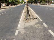 ડભોઇમાં બપોરે ગરમીનો પારો 43 ડિગ્રીએ પહોંચતાં રસ્તાઓ સુમસાન|ડભોઈ,Dabhoi - Divya Bhaskar