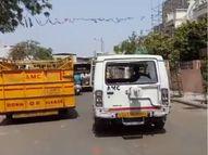 AMCની ઢોર પકડતી ટીમનો કર્મચારી લાંચ લેતા રંગે હાથ ઝડપાયો, ફરિયાદીના ઢોર ન પકડવા 20 હજારનો હપ્તો માગ્યો હતો|અમદાવાદ,Ahmedabad - Divya Bhaskar