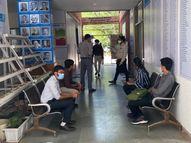 અમદાવાદમાં ગુજરાત યુનિવર્સિટીના કન્વેન્શન સેન્ટરમાં શરુ થનાર 900 બેડની હોસ્પિટલના સ્ટાફ માટે ઈન્ટરવ્યૂ શરૂ|અમદાવાદ,Ahmedabad - Divya Bhaskar