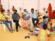 અમદાવાદ સોલા સિવિલના કેમ્પસમાં કોરોનાના દર્દીઓના સગાઓ માટે ACની સુવિધા ધરાવતો ડોમ બનાવવામાં આવ્યો|અમદાવાદ,Ahmedabad - Divya Bhaskar