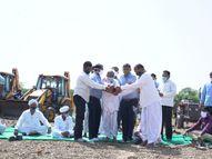 બનાસકાંઠાને પાણીદાર જિલ્લો બનાવવા બનાસડેરી દ્વારા બનાસ જળશક્તિ અભિયાન ડીસા,Deesa - Divya Bhaskar