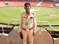 અમદાવાદના ખોખરા પોલીસ સ્ટેશનના જવાનનું કાર અકસ્માતમાં મોત, પત્ની ગંભીર|અમદાવાદ,Ahmedabad - Divya Bhaskar