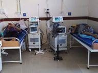 રાજકોટ સિવિલ બાદ કેન્સર હોસ્પિટલમાં વેન્ટિલેટર સાથે બેડની વ્યવસ્થા ઉભી કરાઇ , સરકારે નવા 20 વેન્ટિલેટરની ફાળવણી કરી|રાજકોટ,Rajkot - Divya Bhaskar