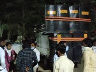 નાની ડેમાઈ ગામમાં વરઘોડામાં 300 લોકો સામેલ થતાં પોલીસ ત્રાટકી, 18 સામે ગુનો|હિંમતનગર,Himatnagar - Divya Bhaskar