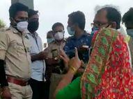 હિંમતનગર સિવિલ બહાર 108ના દર્દીને ડોક્ટર તપાસવા માટે નહીં આવતા પરિવારનો હોબાળો|હિંમતનગર,Himatnagar - Divya Bhaskar