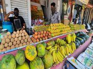સા.કાં. જિલ્લામાં ફળોના ભાવ બમણાં કરી વેપારીઓ ખુલ્લેઆમ ઉઘાડી લૂંટ ચલાવે છે|હિંમતનગર,Himatnagar - Divya Bhaskar