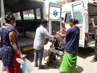 મહેસાણા સિવિલના 24 કોરોના દર્દી સાંઇક્રિષ્ણામાં શિફ્ટ કરાયાં|મહેસાણા,Mehsana - Divya Bhaskar