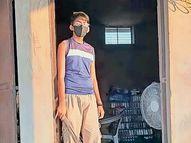 સુખપરનો 16 વર્ષીય તરુણ નિયમિત કોવિડ સ્મશાનમાં કરે છે સેવા|ભુજ,Bhuj - Divya Bhaskar