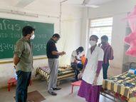 હોમ આઇસોલેટ રહીં ન શકે તેવા સામાન્ય વર્ગના દર્દીઓ માટે 309 પ્રાથમિક શાળાને કોવિડ કેર સેન્ટરમાં ફેરવી દેવાઈ|નવસારી,Navsari - Divya Bhaskar