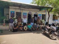 અમદાવાદમાં જ્વેલર્સની દુકાનમાં 3.40 લાખની ચોરી, મુદ્દામાલનો ભાગ પાડવા કિન્નર સહિત 7 આરોપીઓ ભેગા થયા અને પોલીસ ત્રાટકી|અમદાવાદ,Ahmedabad - Divya Bhaskar