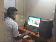 સાબરમતી જેલમાં કોરોનાના લીધે મુલાકાત બંધ, જેલ તંત્રએ વીડિયો કોલિંગની વ્યવસ્થા કરી કેદીઓની પરિવારજનો સાથે વાત કરાવી|અમદાવાદ,Ahmedabad - Divya Bhaskar