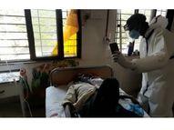 નવસારી સિવિલમાં યુવાઓનો અનોખો સેવાયજ્ઞ, પરિવારજનની માફક દર્દીઓની કરી રહ્યા છે સેવા|નવસારી,Navsari - Divya Bhaskar
