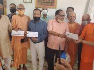 હિન્દુ અનાથ આશ્રમ દ્વારા સંતરામ મંદિરને 1 કરોડનું દાન નડિયાદ,Nadiad - Divya Bhaskar