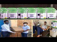 ફોકીઆ 85 લાખના 275 ઓક્સિજન કનસન્ટ્રેટર સેવામાં અર્પણ કરશે|ભુજ,Bhuj - Divya Bhaskar