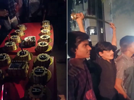 અમદાવાદમાં રાત્રિ કર્ફ્યૂ દરમિયાન બર્થ-ડેની ઉજવણી, જાહેરમાં તલવારથી કેક કાપનારો બર્થ-ડે બોય જેલ ભેગો થયો|અમદાવાદ,Ahmedabad - Divya Bhaskar