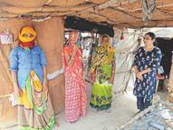 વિદ્યાર્થિનીએ પાટડીનાં 40 ગામડાંમાં ફરીને 'ટેસ્ટ કરાવો એટલે પોઝિટિવ જ આવે' તે સહિતની ગેરમાન્યતા દૂર કરી|પાટડી,Patdi - Divya Bhaskar